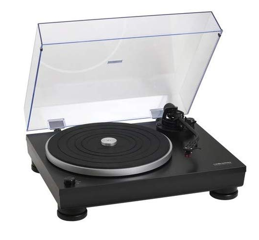 this image shows a record player for djs