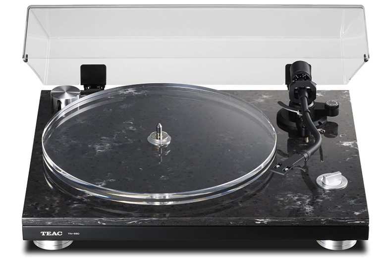 this picture shows the TEAC TN 550 model