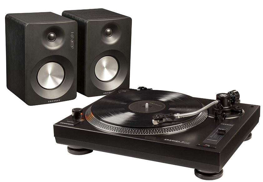 record players with speakers budget
