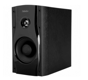 this picture shows the Definitive Technology SM45 bookshelf speaker