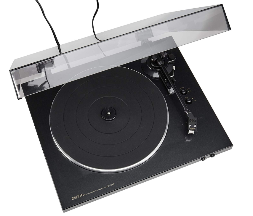 Denon DP300F record player