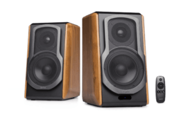 this image represents the Edifier S1000DB bookshelf speaker set
