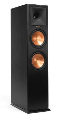 Front and side panel of the rp-280f by Klipsch