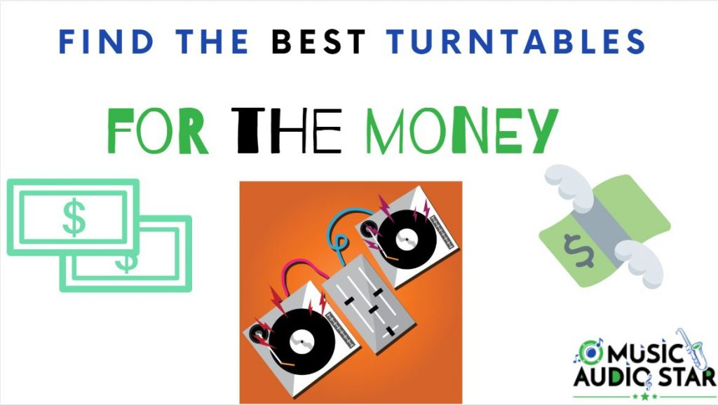 this is our featured image for the top record players for the money