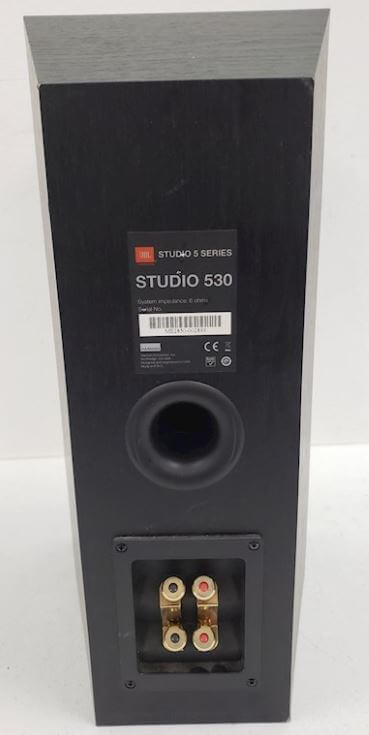 image of the backend of the JBL studio 530