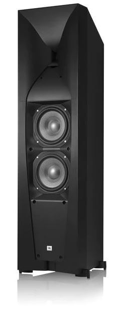 image of the woofers on the studio 690 by JBL