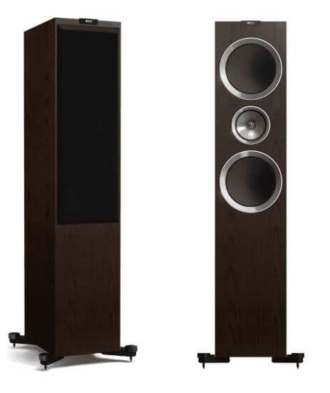 image of the kef r900 tower speakers