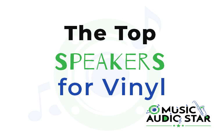 this is our featured image for our blog post on speakers for turntables