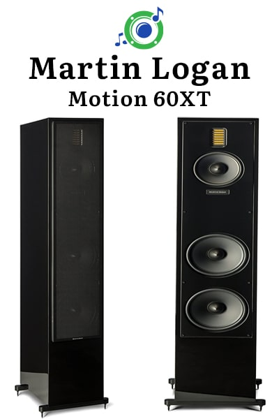 this picture shows the outside of the Martin Logan Motion 60XT tower speaker